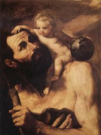 Св. Христофор с младенцем Иисусом