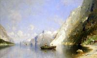 Георг Антон Расмуссен. Фиорд в Норвегии