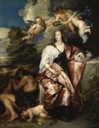 Портрет леди Венеции Дигби, олицетворяющей Благоразумие