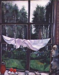 Марк Захарович Шагал. Окно на даче