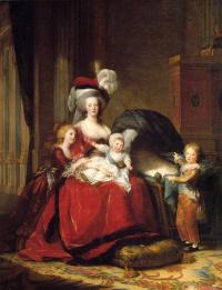 Элизабет Виже-Лебрен. Мария-Антуанетта и ее дети