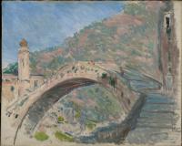 Claude Monet. Dolceacqua, la vieux pont sur la Nervia