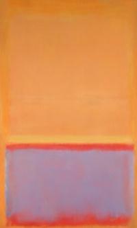 Untitled (Orange, blue red)