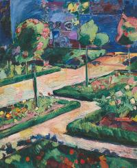 Cuno Amiè. Garden