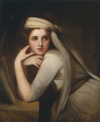 Portrait of Emma Hart (later Hamilton) in the form of a Bacchante