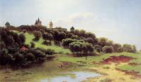 Лев Львович Каменев. Савино-Сторожевский монастырь под Звенигородом