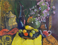 "Egor Tagintsev. Decorative still life ""Autumn"""