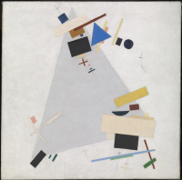 Kazimir Malevich. Dynamic Suprematism (Supremus 57)