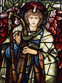 Edward Coley Burne-Jones. Praying angel