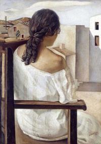 Portrait (sister of Dali Anna-Maria)