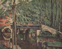 Поль Сезанн. Лесной мостик