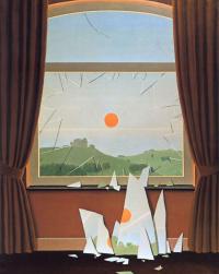 Rene Magritte. Evening
