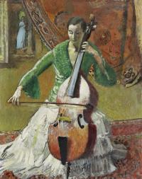 Cellist, Madame Rauch-Godot