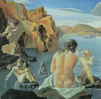 Сальвадор Дали. Венера с Купидоном