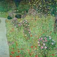 Густав Климт. Фруктовый сад с розами