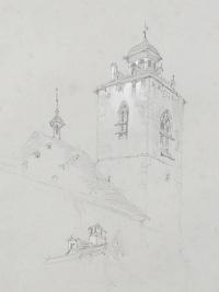 Church Tower, Switzerland