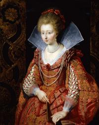 Portrait of Charlotte Marguerite de Montmorency, Princess of condé