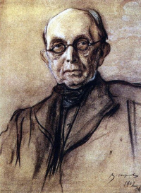 Portrait Of K. P. Pobedonostsev