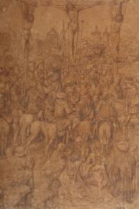Рисунок к картине «Распятие»