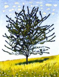 Фердинанд Ходлер. Вишневое дерево