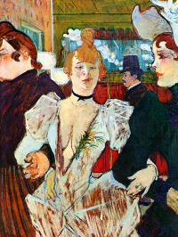 La goulue at the Moulin Rouge