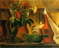 Пабло Пикассо. Натюрморт с букетом цветов