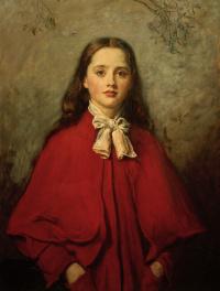 "Bright eyes. Portrait of Eufemia ""Effie"" Gray"