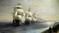 Смотр Черноморского флота в 1849 году