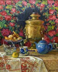 Серафим Петрович Алтаев. Самовар. 1990