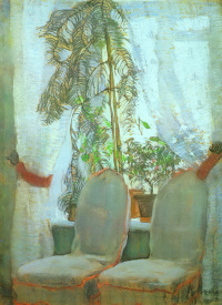 Window. Moscow. The apartment of the parents of the artist