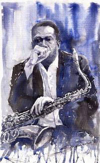 Из серии Джаз. Саксофонист  2008