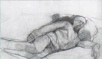 The sleeping portrait of Savva Mamontov