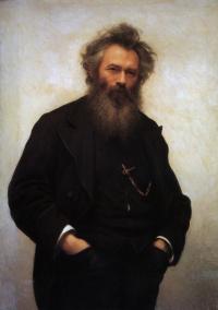 Portrait Of I. I. Shishkin