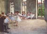Эдгар Дега. Репетиция балета