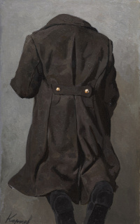 Overcoat and boots
