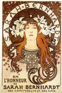 Sarah Bernhardt in the role of Melisande