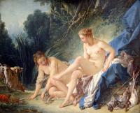 Bathing Diana