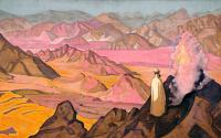 Mohammed on mount Hira