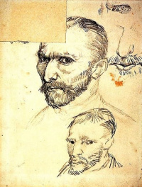 The self-portraits