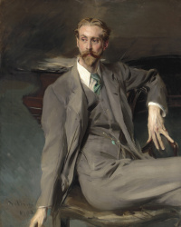 Portrait of Lawrence Alexander (Peter) Harrison