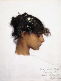 The girl's head from Capri Rosina Ferrara