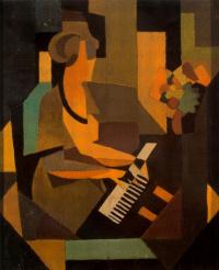 Жоржетта за пианино