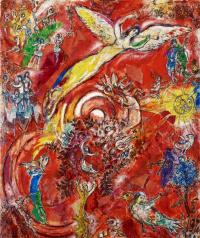 Триумф музыки. Финальный рисунок фрески для Метрополитен-оперы