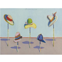 Уэйн Тибо. Шляпы