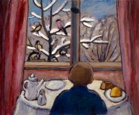 Габриель Мюнтер. Завтрак с птицами