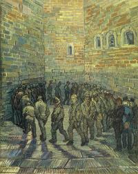Прогулка заключенных (по мотивам Доре)