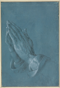 Praying hands (the hands of the Apostle)