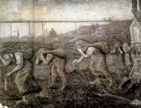 Винсент Ван Гог. Угольщицы с мешками