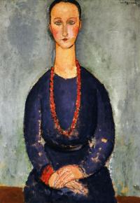 Красное ожерелье. Портрет мадам Вердо