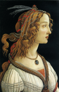 Idealized portrait of a lady (Simonetta Vespucci)